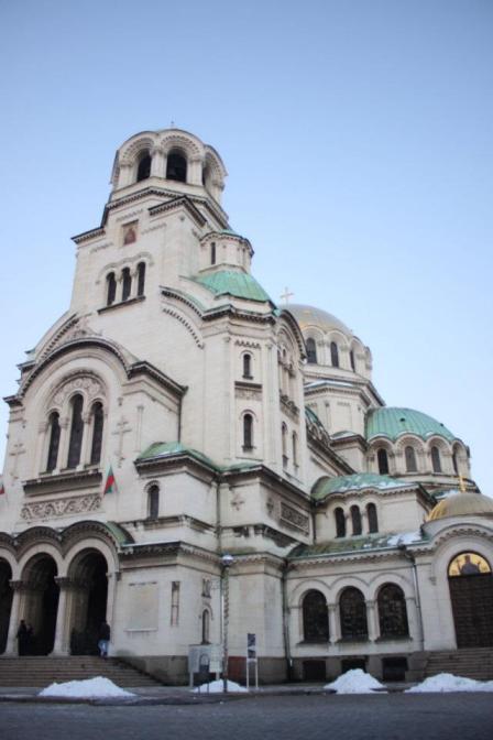 The Saint Alexander Nevsky Cathedral Sofia Bulgaria