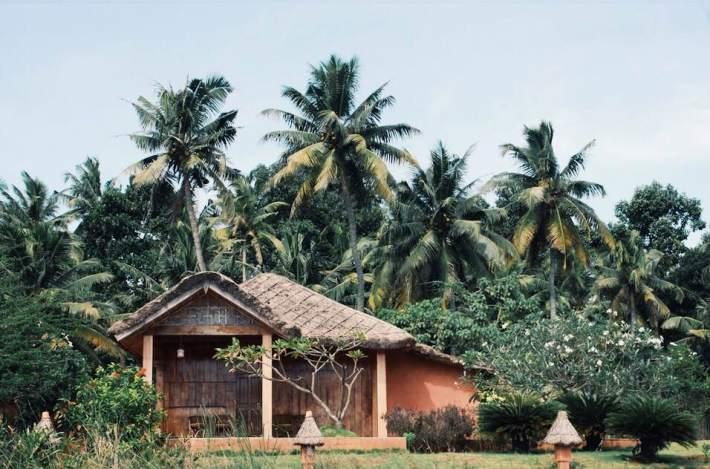 Bungalow hut accommodation in Kerala