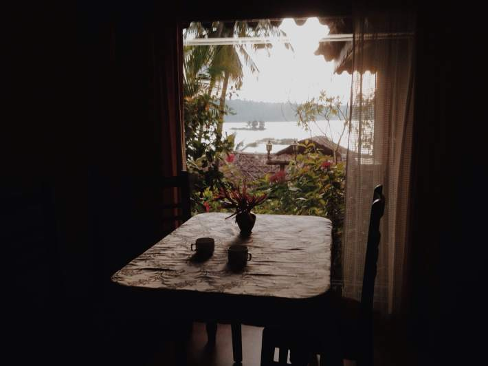 The rooms at Fragrant Nature with views of Kerala's backwaters