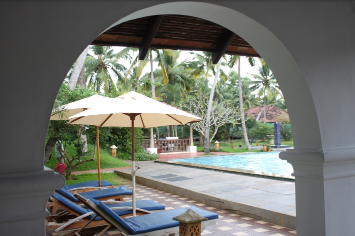 Estuary Island Poovar Pool area